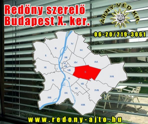Redőny rendszerek szerelése, javítása, készítése kizárólag minőségi alapanyagokból, Budapest X. kerületben.