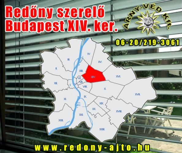 Redőnyök szerelése, készítése, javítása kizárólag csak magas minőségű anyagokból, Budapest XIV. kerületben.