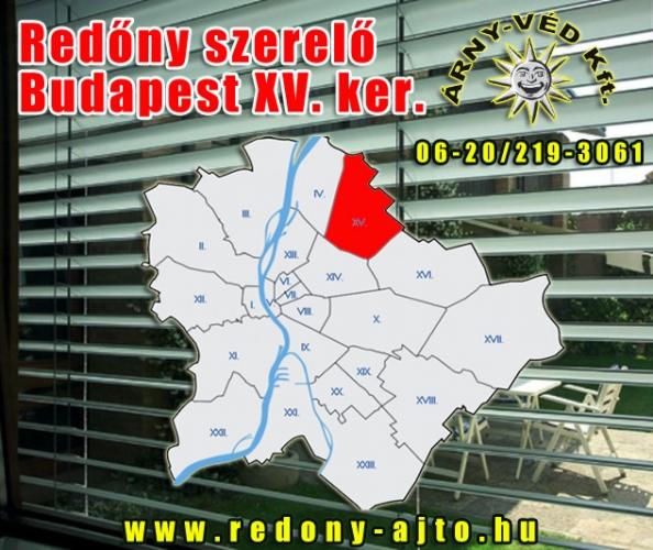 Redőnyök szerelése, készítése, javítása csak minőségi anyagokból Budapest XV. kerületben.