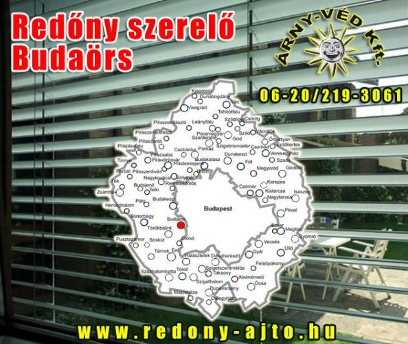 Redőnyök szerelése, javítása, készítése kizárólag magas minőségű alapanyagokból Budaörsön.