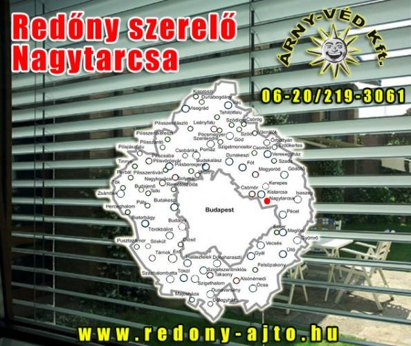 Redőnyök, motoros redőnyök szerelése, készítése, javítása csak minőségi alapanyagokból Nagytarcsán.