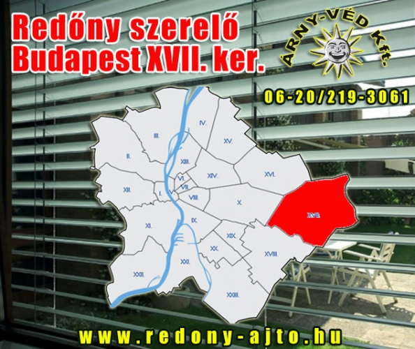 Redőnyök, motoros redőnyök javítása, szerelése, készítése csak magas minőségű anyagokból Budapest XVII. kerületben.