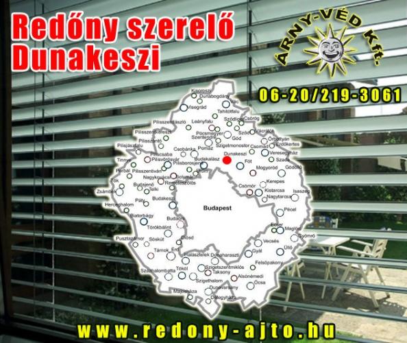Redőnyök, motoros redőnyök készítése, szerelése, javítása csak minőségi alapanyagokból Dunakeszin.