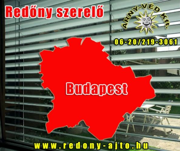 Redőnyök készítése, szerelése kizárólag csak minőségi alapanyagokból Budapesten.